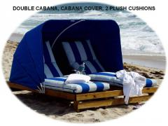Cabanas-Wooden Lounges