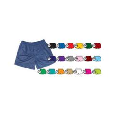 Youth size cool mesh track shorts with covered