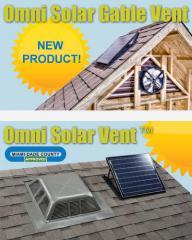 Lomanco® Solar Power Vents