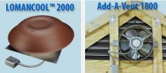 Lomanco® Standard Power Vents