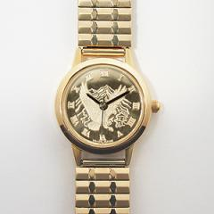 Ladies Round Eagle Watch