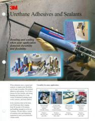 3M Urethane Adhesives and Sealants