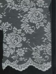 White/Silver Metallic Laces