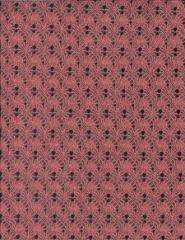 Coral/Silver Metallics Laces