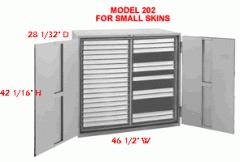 Model 202 Skin case