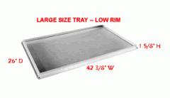 Low Rim -- Large size tray