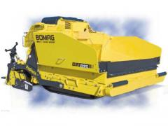 2012 BOMAG BF814 Self Propelled Paver