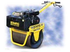 2012 BOMAG BW55E Walk Behind Rollers