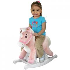 Rockin' Rider Animated Plush Rocking Horse