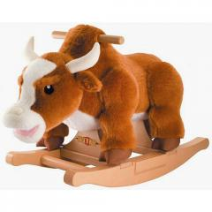 Rockin' Rider Deluxe Animated Plush Rocker