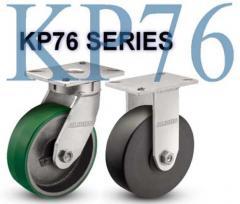 KP76 Series Heavy Duty Kingpinless Casters
