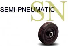 SN Series Semi-Pneumatic Wheel