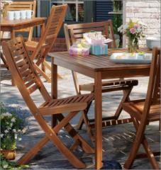 Oxford Garden Capri Folding Chair