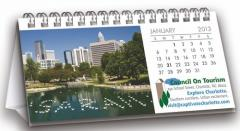 The Snapshot Custom Tent Calendar W/ Stock Images
