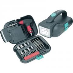 Ruff Ready 25-piece Tool Kit With Light