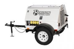 15 KW Mitsubishi Sound Attenuated Generator Set