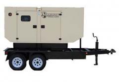 80 KW Triton Rental Grade Mobile Generator Set EPA