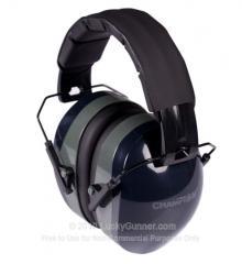 Earmuffs - Champion Black Earmuffs - 26 NRR - 1