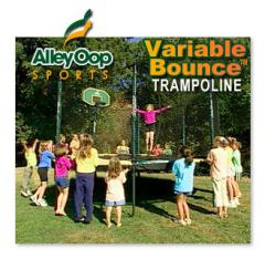 Alley Oop Variable Bounce Trampolines