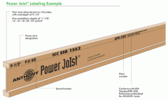 APA Performance Rated™ I-Joists