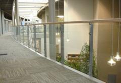 Belmont economical metal railing system