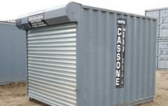 Ground Level Storage Container
