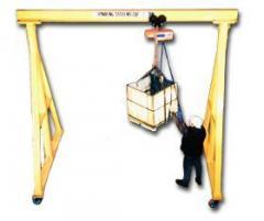 Fixed & Adjustable Steel Gantry Cranes