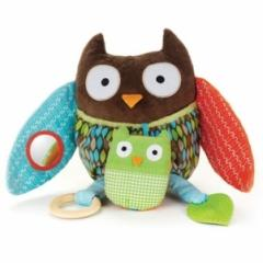 Hug and Hide Activity Toy, Owl