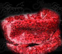 Red Leopard Trundle Bed