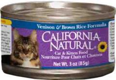 California Natural 3oz Cat Food