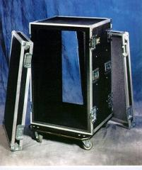 Double Cover Shockmount Rack Cases
