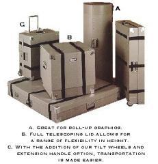Buckles & Straps Telescoping Lid Cases