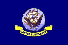 United States Navy Flag BR565