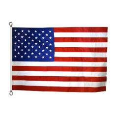 U.S. Flag with Roped Heading