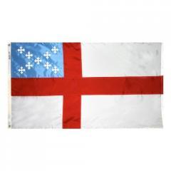 Episcopal Flag Nyl-Glo