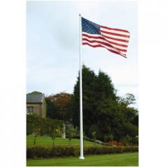 Fiberglass One Piece Flagpole for Home or Business