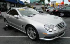 2005 Mercedes-Benz SL-Class SL500 Roadster 2D