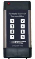 Short range (up to 350 yards) transmitter syustems