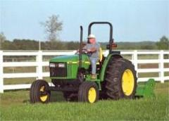 2012 John Deere 390 Offset Flail Mower