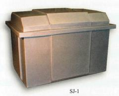 Bulk Containers with Lids SJ-1