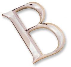 Cast Bronze, Brass or Aluminum Letters
