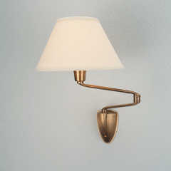 W332 Double Swing Arm Wall Lamp