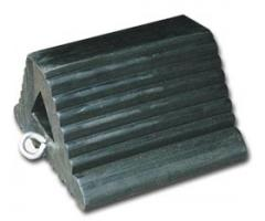 Molded Rubber Wheel Chocks for Trucks and Trailers
