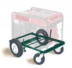Four Wheeled Easy- Rolling Generator Cart