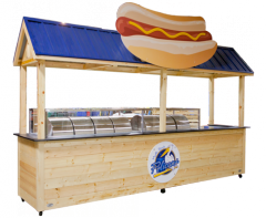 Myrtle Beach Pelicans Serving Cart
