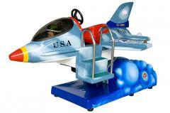 Kiddie Rides F-16 Jet Fighter