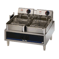 Twin Pot Single Baskets Electric Fryer 530TD