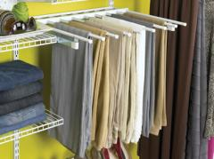 Slide-Out Pant Rack
