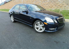2012 Mercedes-Benz E350 Sedan Vehicle