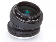 Lensbaby Composer Pro with 35 sweet optic for Canon